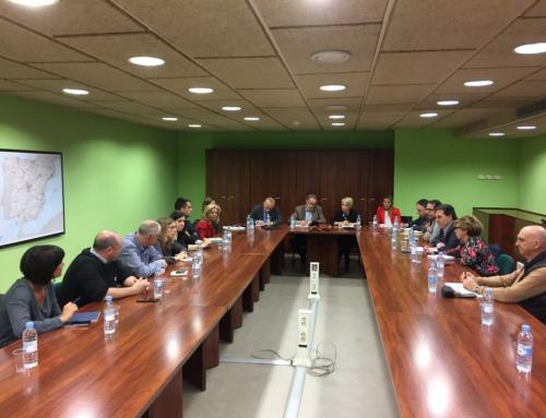 La comissió de seguiment de la R4 es constitueix a Barcelona amb la participació dels representants del territori