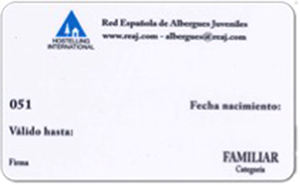 Carnet d'alberguista Familiar