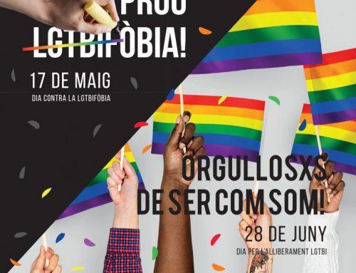 El Bages censura la LGTBIfòbia i commemora el 28 de juny amb diverses activitats reivindicatives