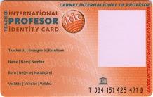 Carnet Professor Internacional