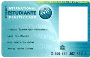 Carnet d'estudiant internacional