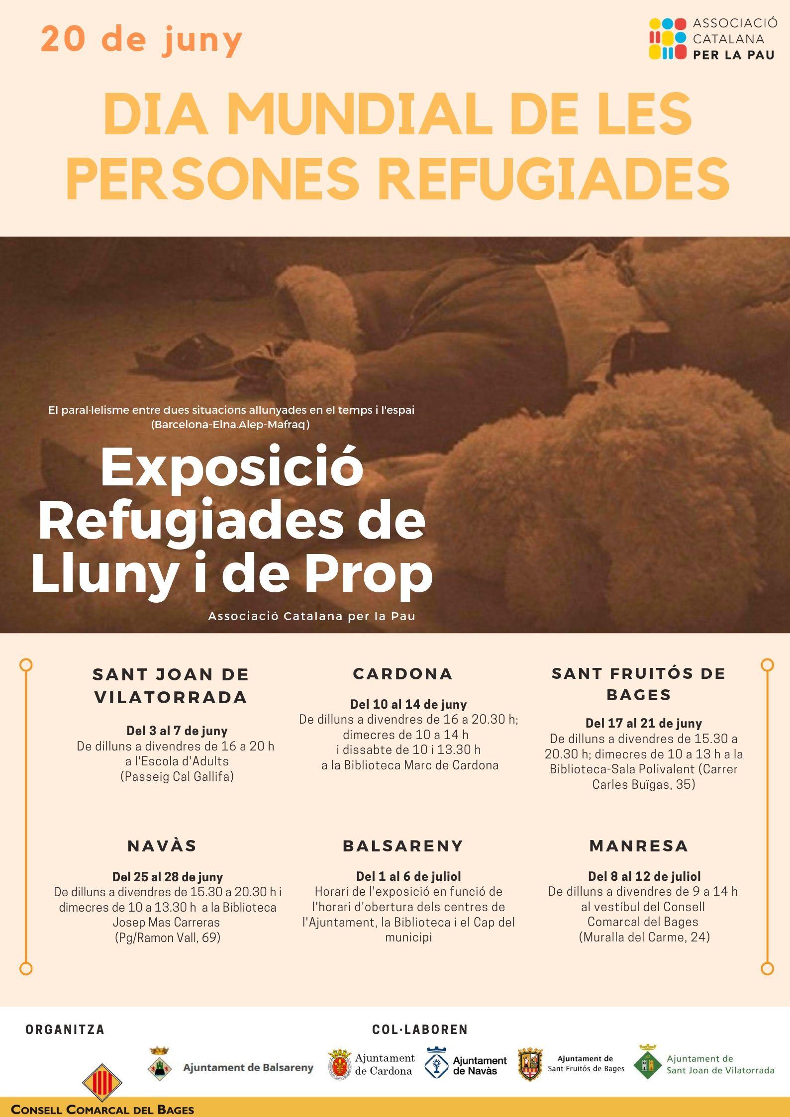 Exposició Refugiades de prop i de lluny