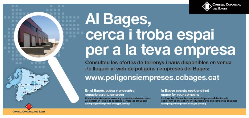 Al Bages, cerca i troba espai per a la teva empresa