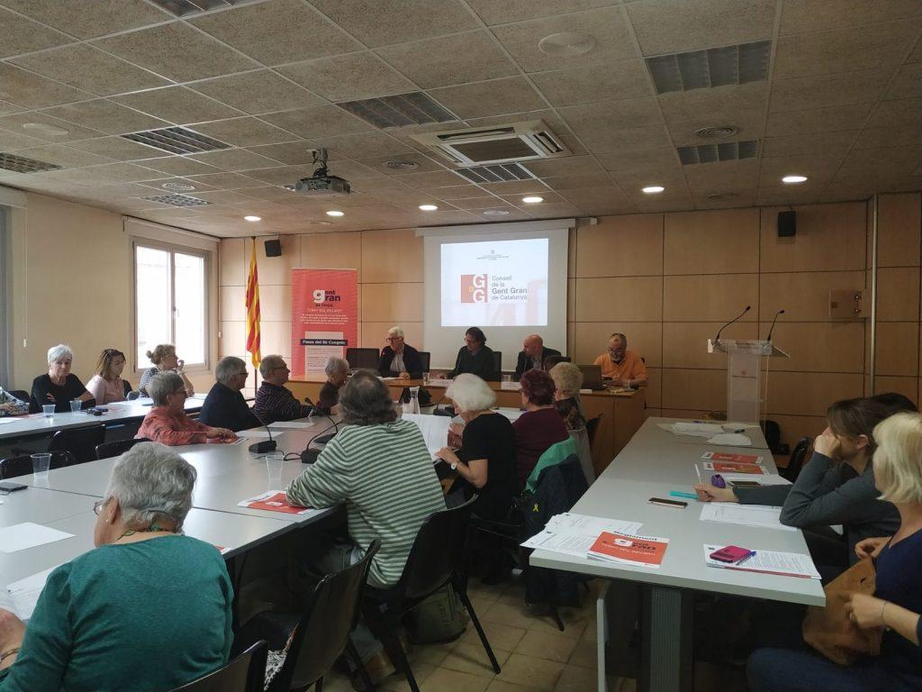 El Consell Comarcal acull l'acte precongressual del 8è Congrés Nacional de la Gent Gran de Catalunya