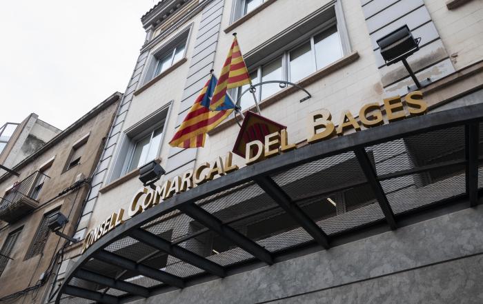 Façana del Consell Comarcal del Bages