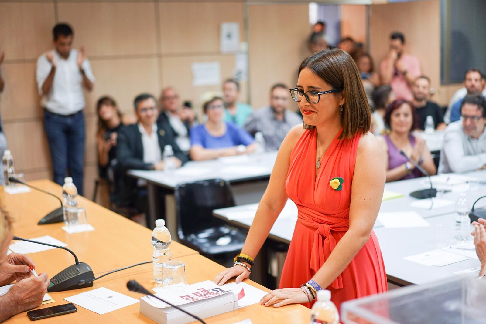 Estefania Torrente i Guerrero, nova presidenta del Consell Comarcal del Bages