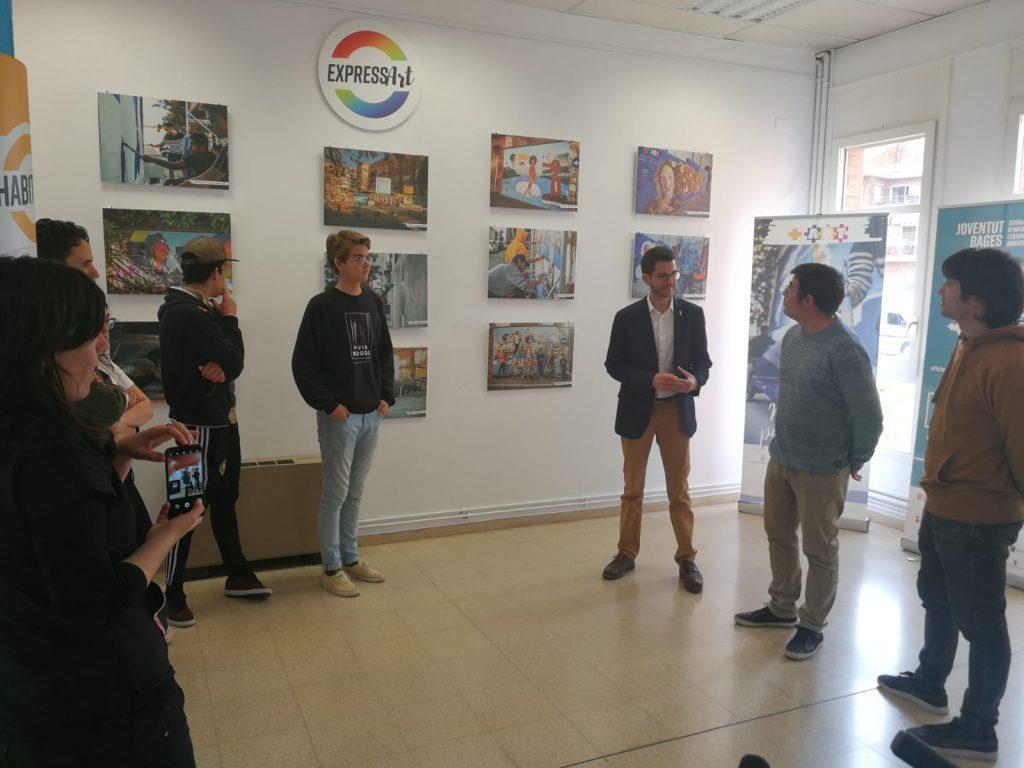 L'exposició del projecte +ART plasma la creativitat dels joves del Bages