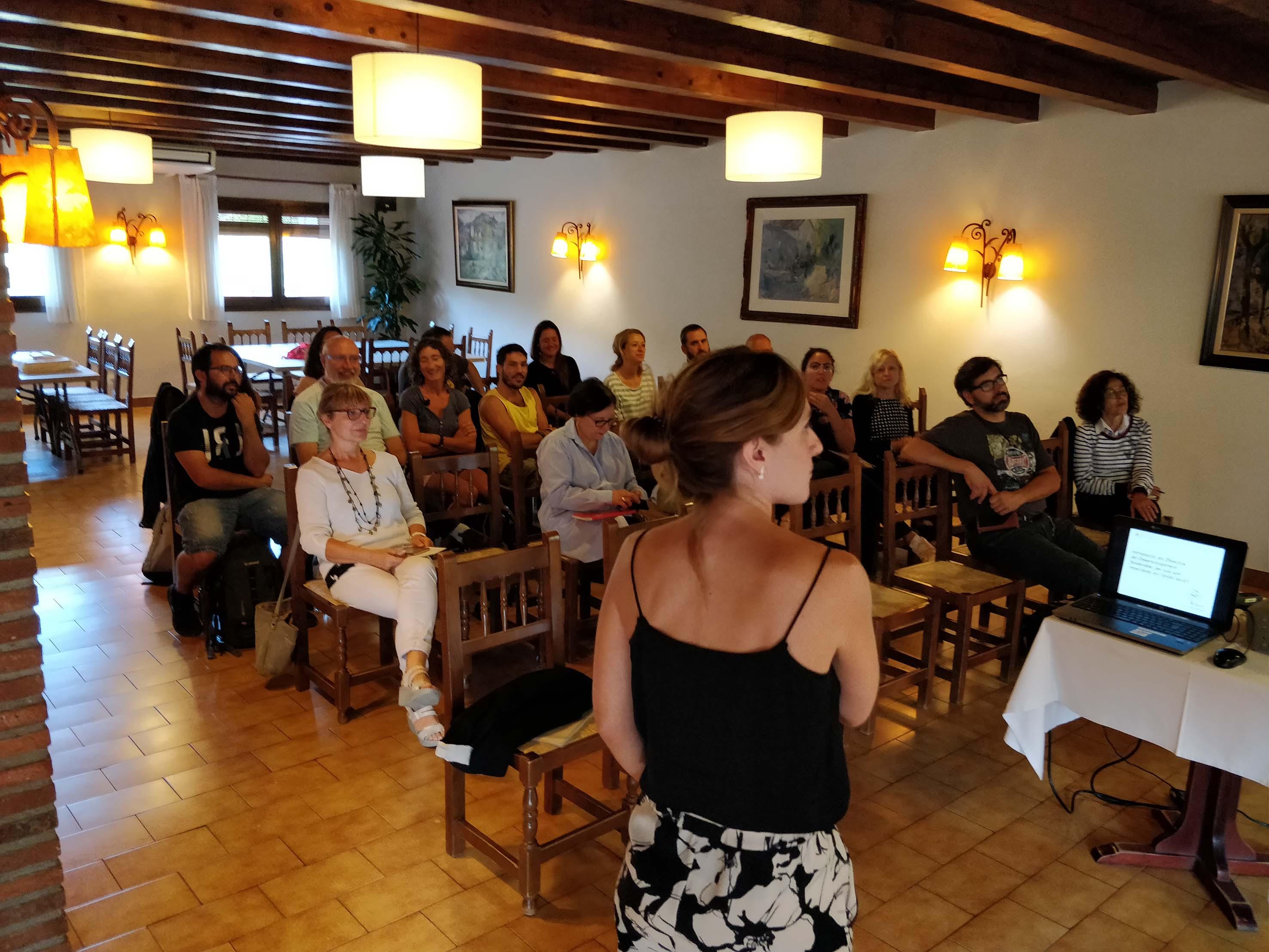 Empreses i entitats turístiques del Bages participen en un taller sobre desenvolupament sostenible