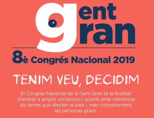 El Congrés Nacional de la Gent Gran, a Sant Benet