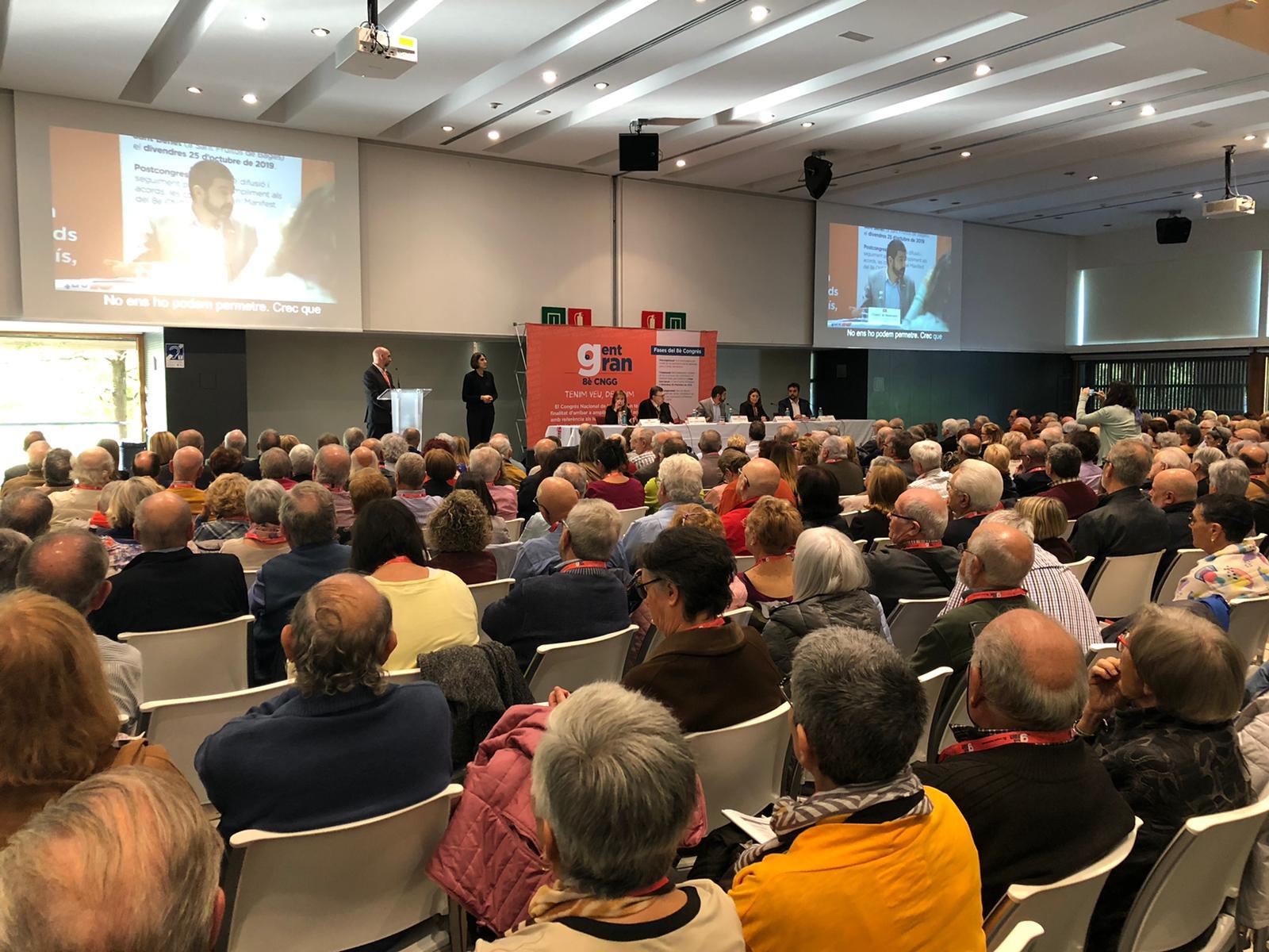 El Bages participa al 8è Congrés Nacional de la Gent Gran