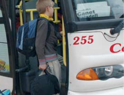 El Consell Comarcal del Bages transporta cada dia 2.644 alumnes distribuïts en 101 rutes