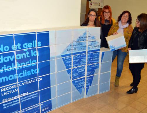 La campanya del 25 de novembre al Bages utilitzarà un iceberg per fer visibles totes les violències contra les dones