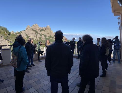 Representants de les administracions locals coneixen de primera mà els nous projectes del Geoparc de la Catalunya Central