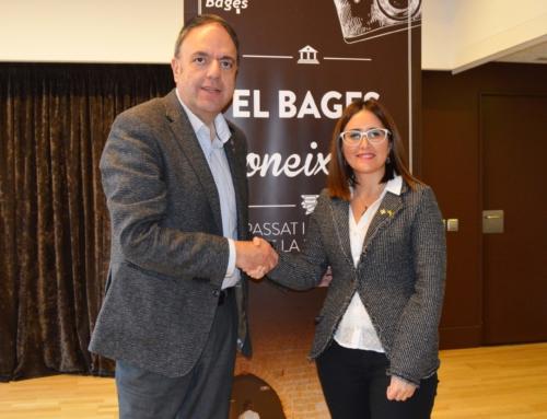 L'alcalde de Manresa, Valentí Junyent, pren el relleu a Estefania Torrente com a president de Bages Turisme