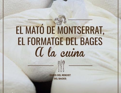 El Rebost del Bages edita una guia per posar en valor el mató de Montserrat