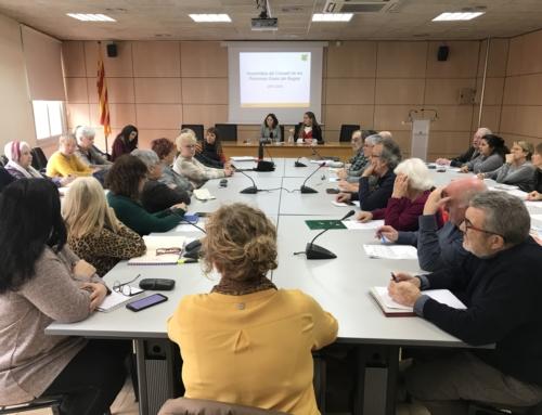 Primera assemblea del Consell de les Persones Grans del Bages d'aquest 2020