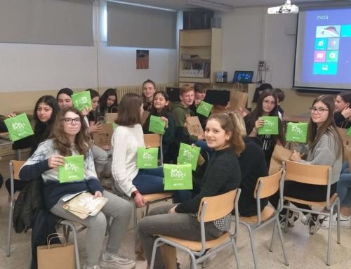 Alumnes alemanys i bagencs s'apropen al turisme sostenible de la mà de Bages Turisme