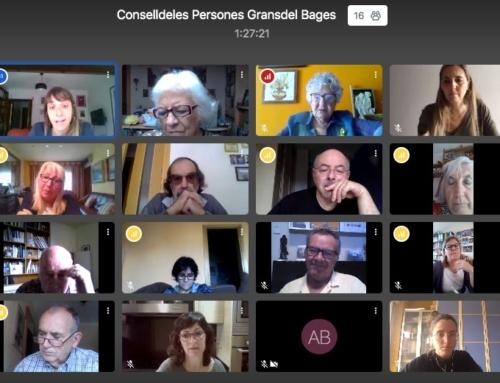 El Consell de les Persones Grans del Bages edita un vídeo divulgatiu de les experiències viscudes durant el confinament