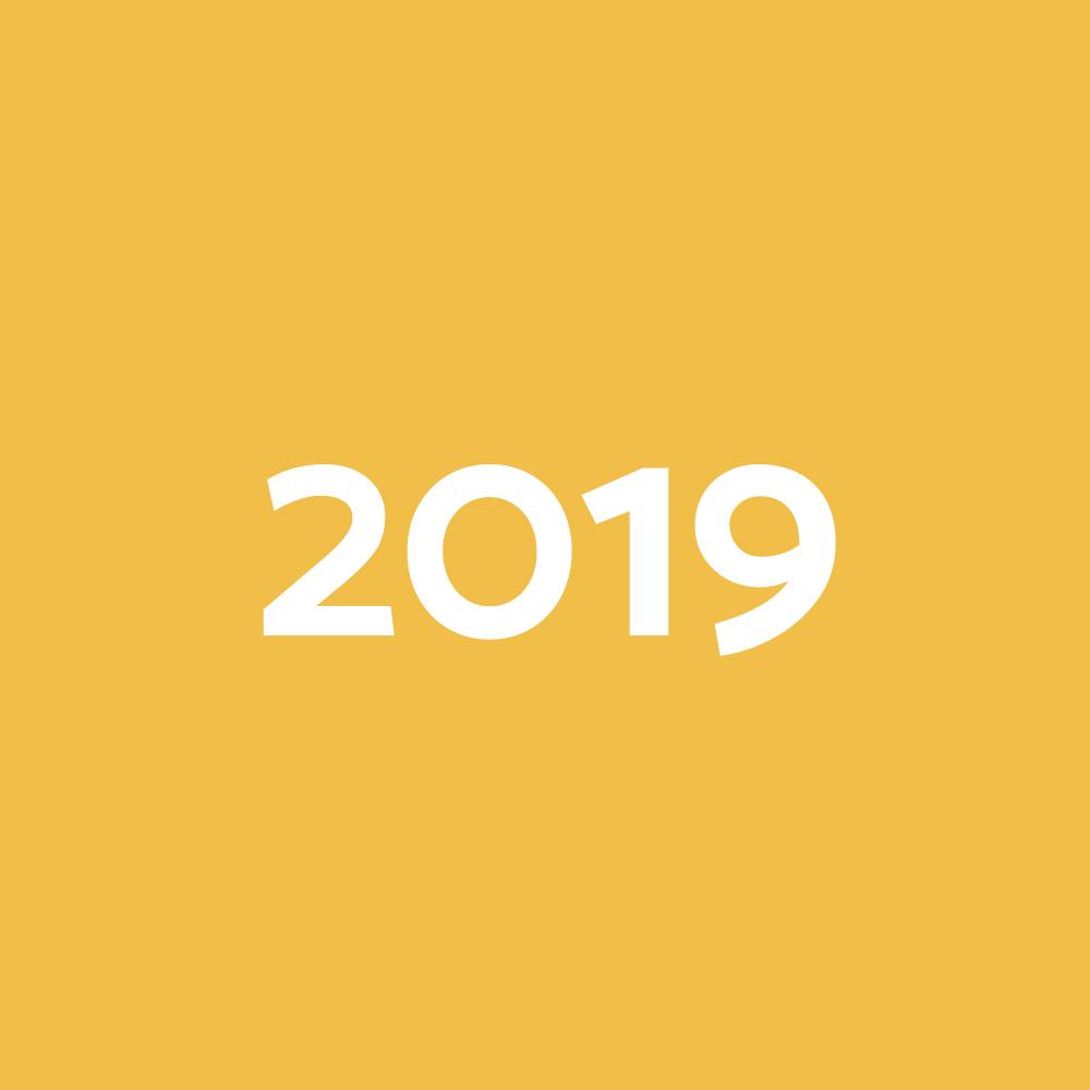 Dades del 2019
