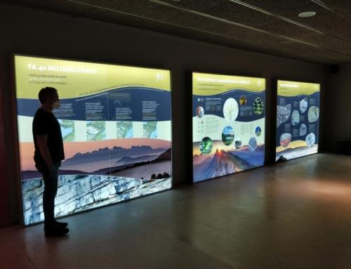 Finalitza l'adequació de l'antic CAT de Sallent com a centre de visitants del Geoparc de la Catalunya Central