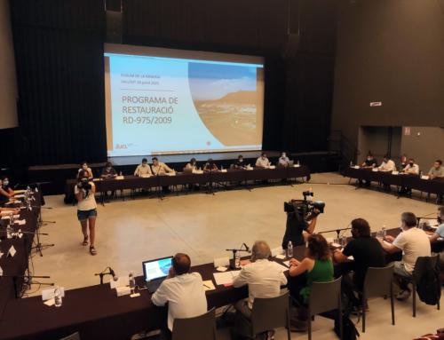El Fòrum de la Mineria del Bages reitera la defensa i el compromís per a una activitat segura i sostenible