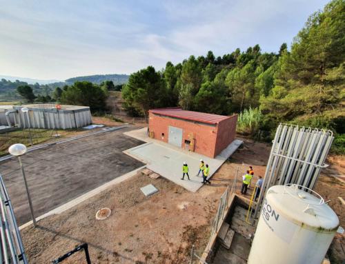 Finalitzen les obres de millora de l'abastament d'aigua en alta als municipis de Sallent, Avinyó, Artés i Calders