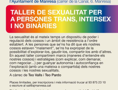Programat un taller de sexualitat per a persones trans
