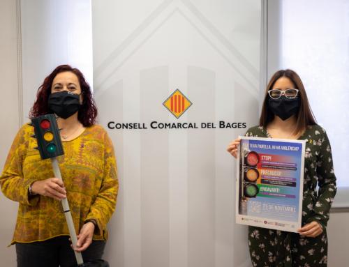 La campanya del 25 de novembre al Bages posa el focus en les primeres actituds violentes en l'àmbit de la parella