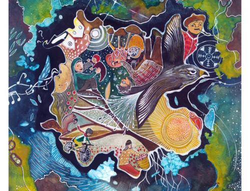 Felicitem el Nadal amb una imatge de la il·lustradora manresana Aina Sallés