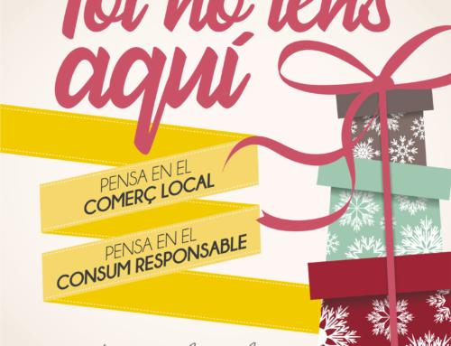Promovem una campanya per afavorir el consum de proximitat aquest Nadal