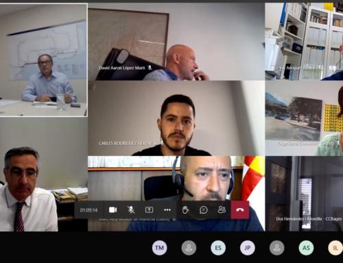 Reunió de coordinació del Pla de Rodalies de Catalunya