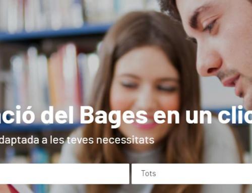 La pàgina web formabages.cat, pionera en la  incorporació de tota l'oferta formativa del territori en un sol clic