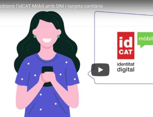 Instruccions per obtenir l'idCAT Mòbil, l'eina que permet gestionar tràmits amb l'administració