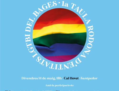 'La importància de fer xarxa' és el títol de la primera taula rodona d'entitats LGBTI+ del Bages